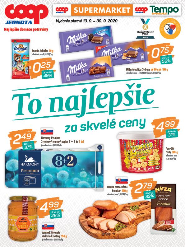 Supermarket, Tempo - Špeciál